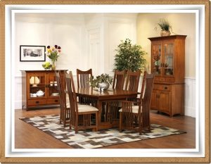 New Classic Mission Dining Room Set